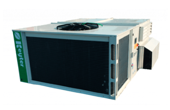 TROPIK Dachmontierte Anlagen mit wassergekühlter Verdichtung