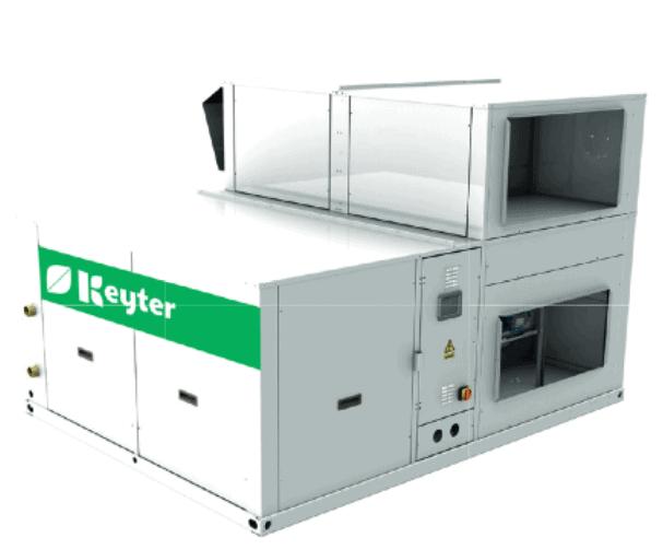 ATENEA Dachmontierte KGR-Wärmepumpe