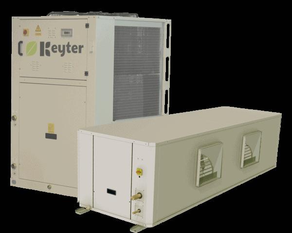Aral - Verflüssigereinheiten KDE und Einheiten für die Innenklimatisierung KPH
