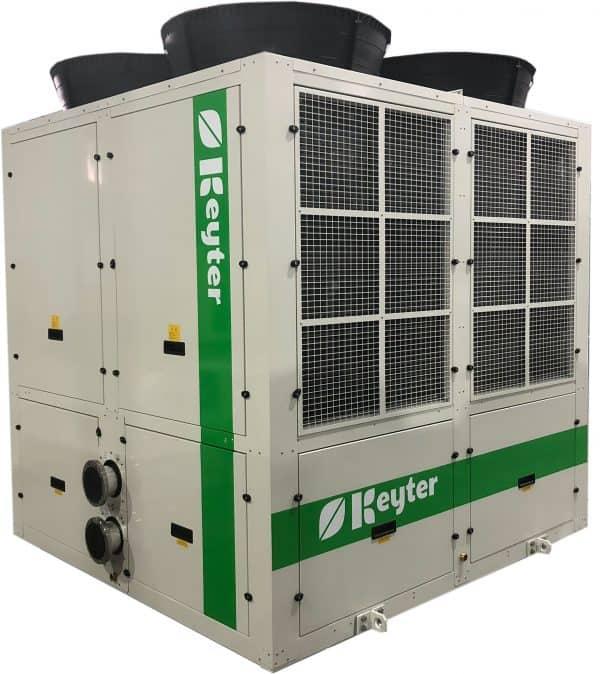 PACIFICA - KWE Kaltwassersätze und Multiscroll-Wärmepumpen mittlerer Leistung mit Kältemittel R410A / R452